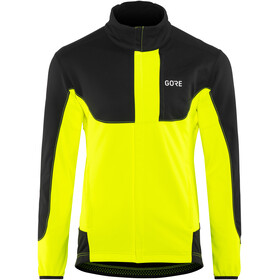 GORE WEAR C5 Windstopper Thermo Trail Jacket Men neon yellow/black